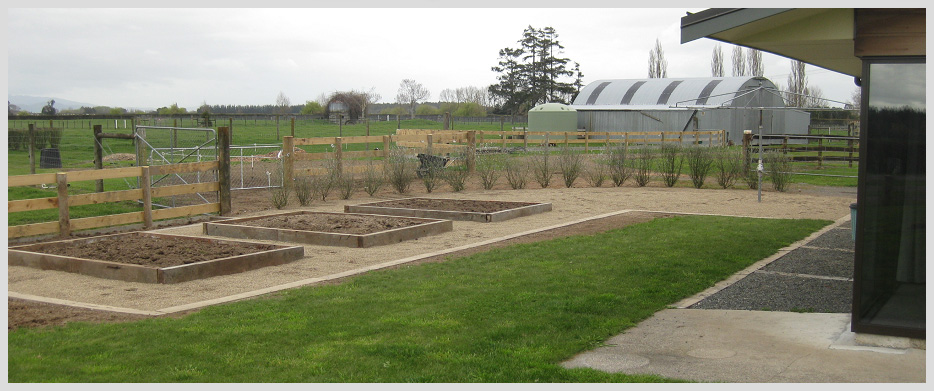 Rural and farm landscaping hamilton waikato and bay of for Landscape design ideas nz
